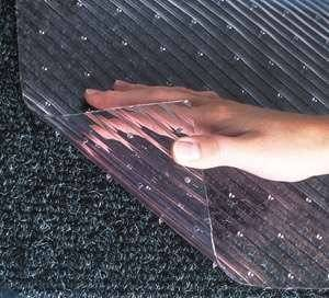 clear carpet protector entrance mat peelback