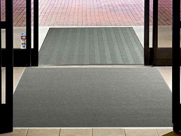 high traffic recessed entrance mat