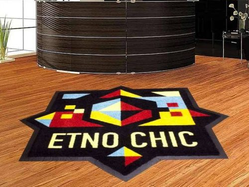 Custom Shaped Logo Mat