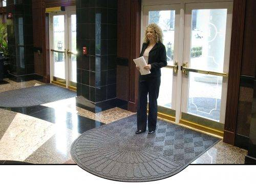 waterhog grand parquet entrance mat