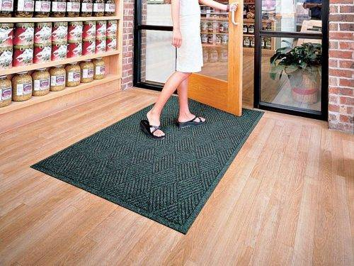 aquahog diamond entrance mat application