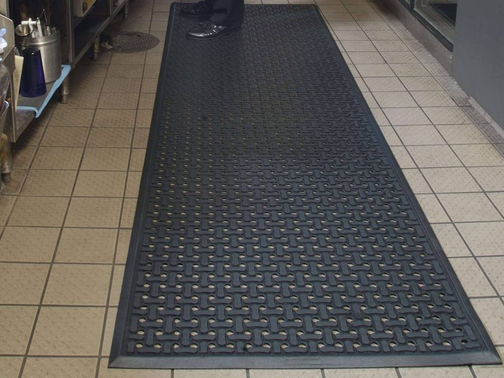 tech drain application mat mats anti flow drainage fatigue comfort through safety floor
