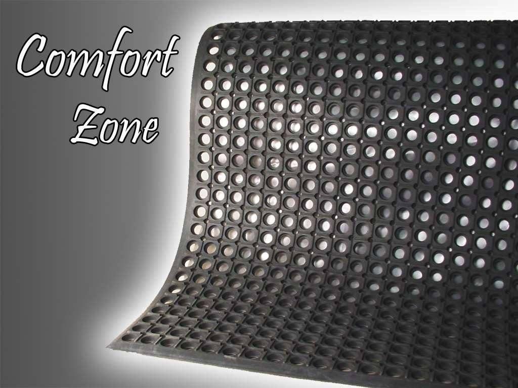 Comfort zone anti fatigue mat kitchen safety mat mat tech for Comfort zone