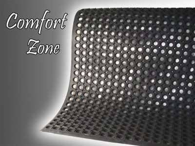 comfort zone anti fatigue mat waterfall