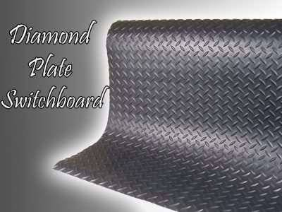 diamond plate switchboard safety mat waterfall
