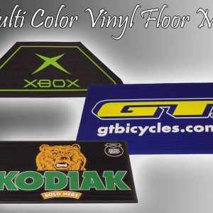 multi color vinyl floor mat