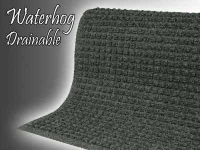 waterhog drainable entrance mat waterfall
