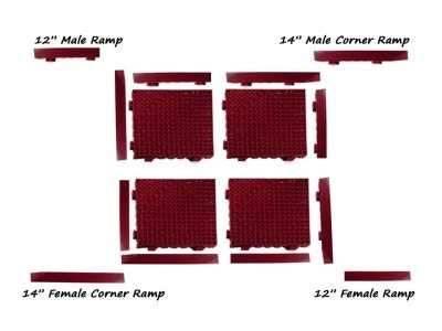 modular lok tile safety mat