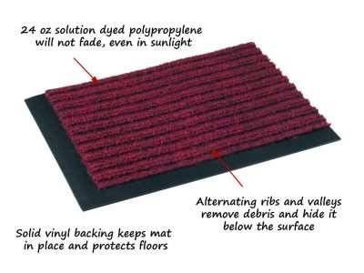 tough rib entrance mat