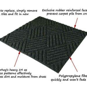 waterhog tile entrance mats