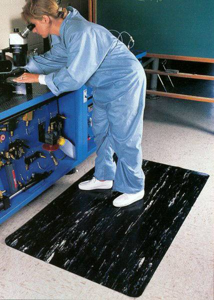 dry area anti fatigue mats application