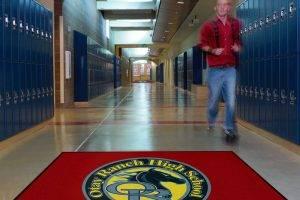 School & Military Logo Mats