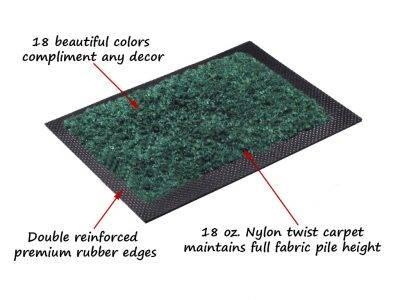 multi grip nylon entrance mat close up