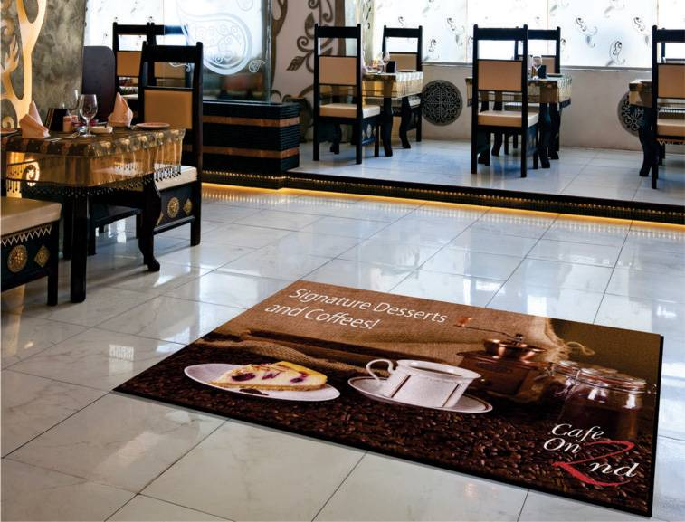 indoor carpet logo promotional mats